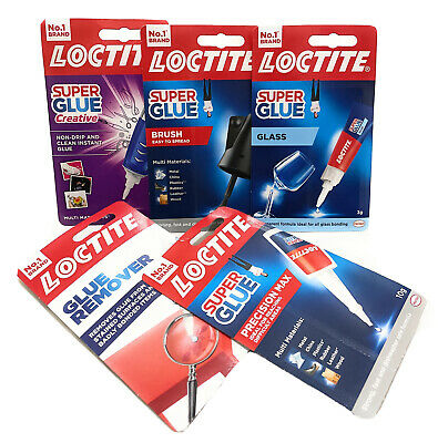 Loctite Super Glue Instant Bond High Strength Adhesive and Super Glue Remover.