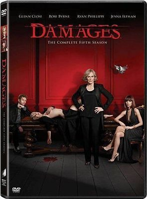 Damages: The Complete Fifth Season (DVD, 2013, 3-Disc Set), NEW !!!