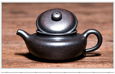 Authentic China Handmade Yixing ZiSha Pottery Teapot200cc fanggu  heini