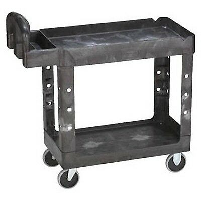 Rubbermaid Commercial Heavy-Duty Service Cart Wheeled Utility Industrial Wheels