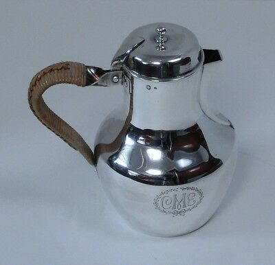 Gorgeous Mid 19th Century French 950 Silver Hot Water Jug, Pierre Queille, Paris