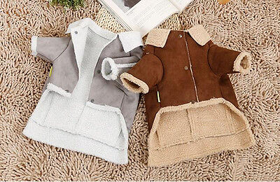 Pet Dog Jacket Winter Warm Clothes Puppy Cats Sweater Coat Clothing Apparel