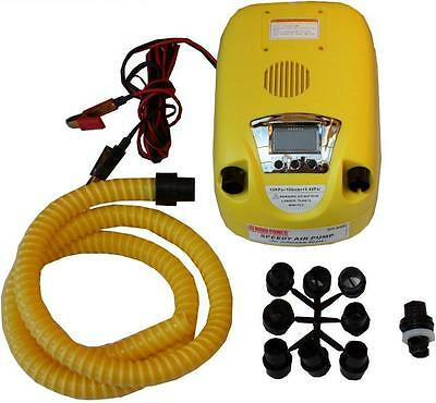 High Speed Digital Inflator Air Pump - Inflatable Boat Pump - Kitesurfing Pump