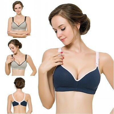 US Women Pregnant Bra Underwear Feeding Bras Maternity Breastfeeding Nursing Bra