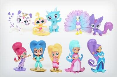 Shimmer and Shine Cake Toppers / Figures