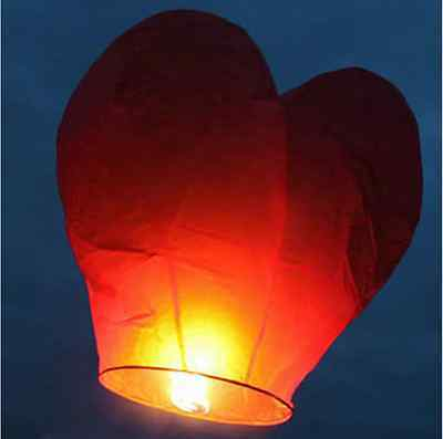 1PCS Chinese Paper Lanterns Sky Fire Fly Candle KongMing Lamp Wish Party Wedding