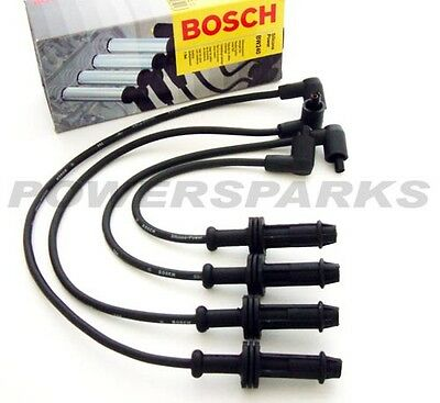 PEUGEOT 306 1.4i [N5] 05.97-06.98 BOSCH IGNITION CABLES SPARK HT LEADS BW240