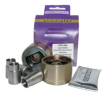 Powerflex Front Inner Control Arm To Chassis Bush PFF3-402 For Audi 200