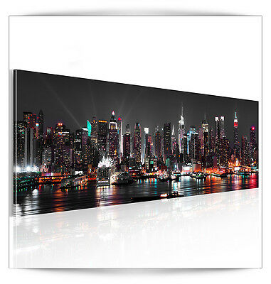 bilder leinwand 120x40 cm wandbilder bild kunstdruck new york stadt dkb0005a1ps eur 2 99. Black Bedroom Furniture Sets. Home Design Ideas