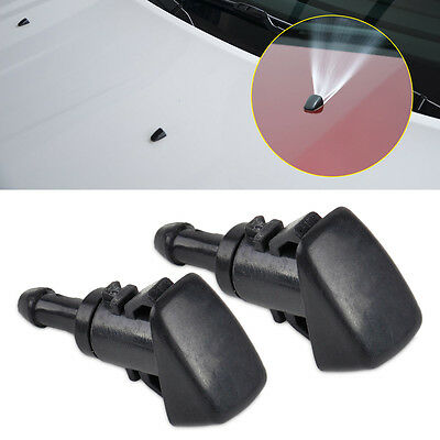 2pc Windshield Washer Wiper Water Spray Nozzle for Chrysler Dodge Jeep Ram 47230