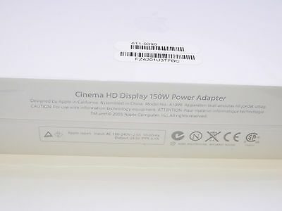 "Original Apple 30"" Cinema HD Display 150W  Power Adapter  A1098 (A1097)"