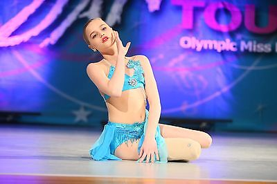 Lyrical teen solo costume Teal
