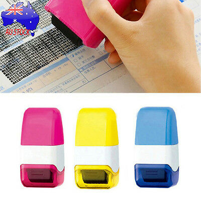Guard Your ID Roller Stamp SelfInking Stamp Messy Code Security Office School AU