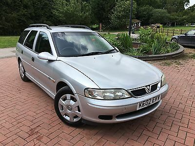 2002 vauxhall vectra 2 0 dti diesel estate manual silver. Black Bedroom Furniture Sets. Home Design Ideas