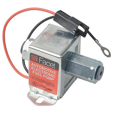 FACET Solid State Fuel Pump 2-3.5 psi 40171 (low fuel flow & low pressure Facet)