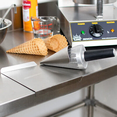 "10"" Waffle Cone Forming Roll Tool - Ice Cream"