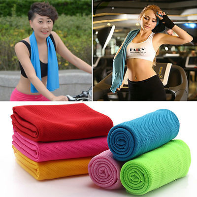 Instant Cooling Towel Sports Gym Outdoor Towel Drying Face Iced Sweat Towels