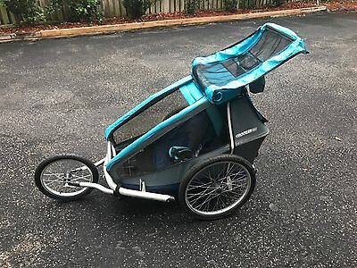 Croozer Kid for 1 bicycle trailer and stroller