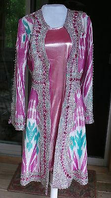 Brand New Antique Uzbek/tadjik Vintage Handmade Embroidery Wedding Dress