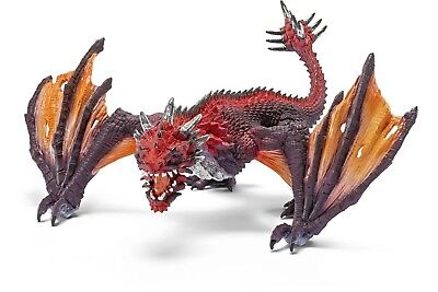 Schleich Dragon Fighter Toy Figure. Shipping is Free