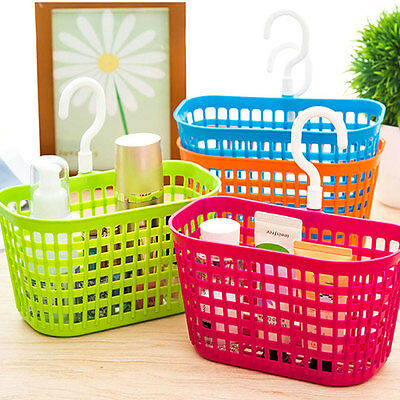 Bathroom Basket Holder Cleanser Shampoo Container Cosmetic Seasoning Organizer