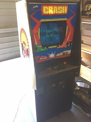 Exidy Crash Arcade Machine All Original Tested And Working