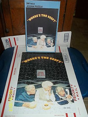 Wendy's Where's The Beef ? 200 Piece Jigsaw Puzzle Complete