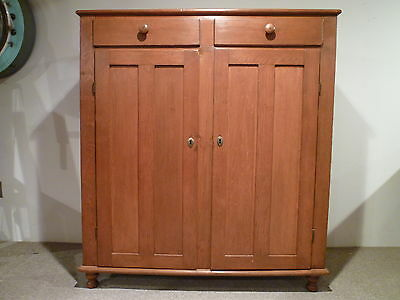 Antique Pine Jelly Cupboard, cabinet