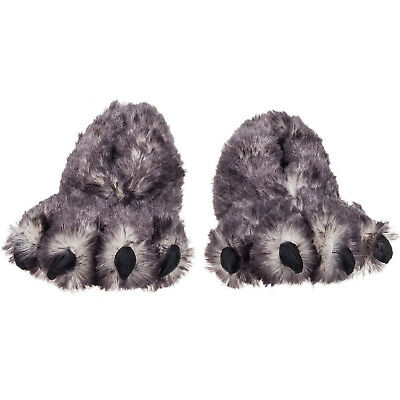 Wishpets Paw Claw Novelty Plush Comfort Animal Footwear Slipper Shoes