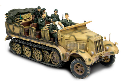 Forces Of Valor 80247 German Sd. Kfz. 7 Half-Track