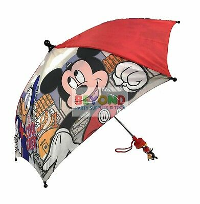 Disney Mickey Mouse Molded Handle Umbrella CLUBHOUSE