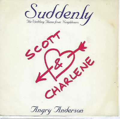 """Angry Anderson - Suddenly - 7"""" Single"""