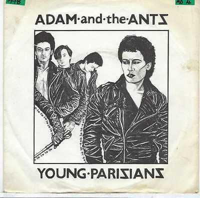 "Adam And The Ants - Young Parisians - 7"" Single"