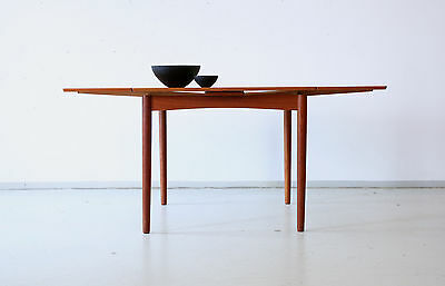 60er poul hundevad teak esstisch danish design 60s dining table mid century eur 490 00. Black Bedroom Furniture Sets. Home Design Ideas