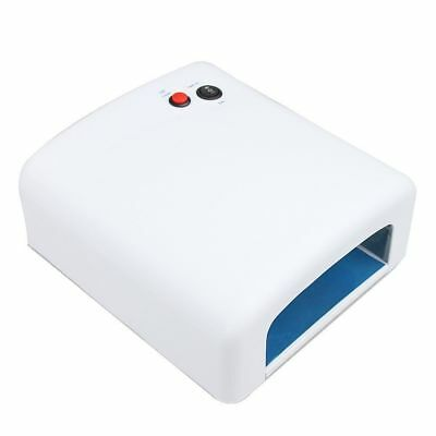 36W UV Curing Lamp for UV Nail Gel Nail Dryer with Sliding Tray from Canada