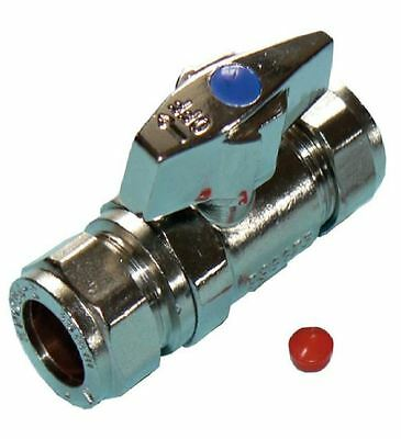 Large Bore 22mm Isolation Valve with Butterfly Handle - Bag of 5