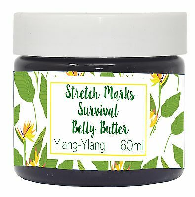 Stretch Marks Cream 100% Natural Prevent Reduce Fade Scars Made in UK
