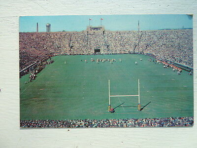 University Of Notre Dame Stadium, North Bend, Indiana In Vintage Postcard