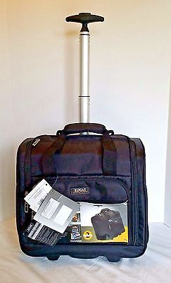 Carry-On with Underseat Luggage Seat Cabin Travel Wheeled Bag Storage Pockets