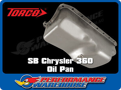 Chrysler 360 Steel Oil Pan Sump Replacement Style