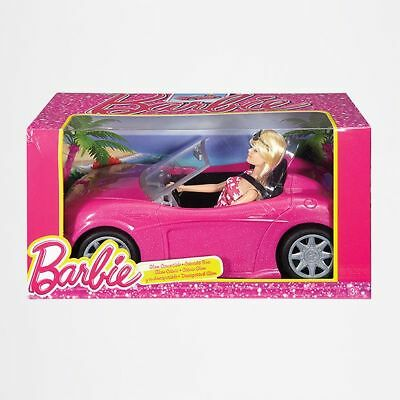 NEW Barbie Glam Convertible Car & Doll