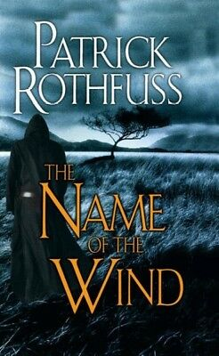 The Name of the Wind (Kingkiller Chronicles) by Patrick Rothfuss.