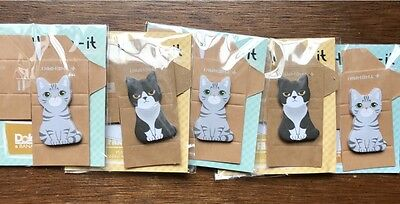 12pcs Office Sticky Notes Bear Pig Cat Animals Coworker Novelty Gift Post It