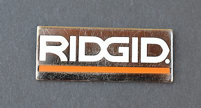 Home Depot Ridgid Logo Vendor Pin