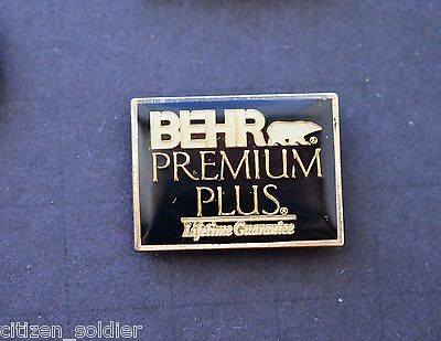 Home Depot Behr Premium Plus Vendor Pin