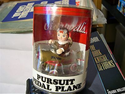 1997 Campbell's Collector Edition Die Cast Pursuit Pedal Airplane NIB