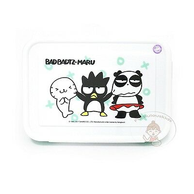 Sanrio Bad-Badtz Maru Plastic Food Box/cute Lunch Container/kids Gift