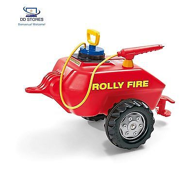 Rolly Toys 122967 Remorque 'Rolly Fire' pompe 75cm