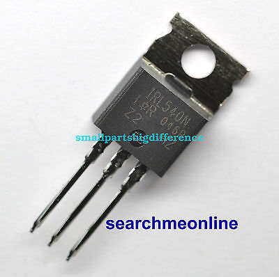 2pcs IRL540N IRL540NPBF TO-220 Mosfet New Original