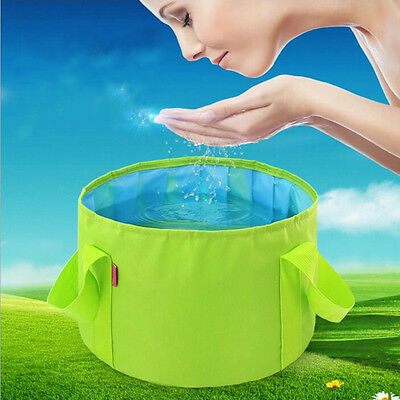 Portable Outdoor Camping Basin 1 pcs Washbasin Equipment Survival Folding